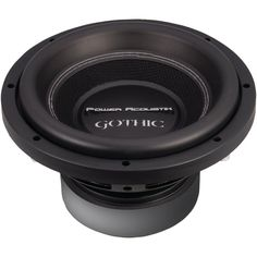 """Power Acoustik Gothic Series 2ohm Dual Voice-coil Subwoofer (10"""" 2200 Watts)  #women #men #Boots #high #shoes #agapeVision #watches #suits #toys #winter"""