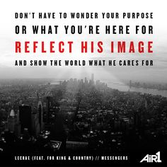 Lecrae (feat. For KING & COUNTRY) // #Messengers