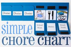 Simple Chore Chart                                                       …