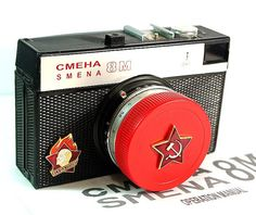 RussianVintage › Cameras  Red Star LOMO Compact SMENA-8M Camera in BOX -from RussianVintage