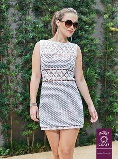 Ficamos encantados com esse modelo de vestido apresentado pela CoatsCorrente.  Ideal para aproveitar esse Verão com muito Estilo! O modelo ...