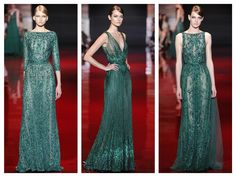 Eli+Saab+emerald+green+couture+2013.j