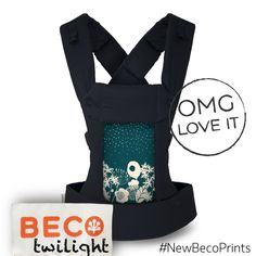 Beco Baby Carrier Gemini in Twilight #NewBecoPrints