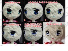 · Muñecos de ganchillo hecho a mano muñeca <WBR> ojos haciendo tutorial