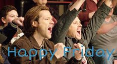 Happy Friday!!! :) Sam and Dean from Supernatural :D
