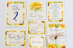 Sunflower thank you card Thank you note Fall postcard Wedding Thank You cards Autumn thanks Sunflower Wedding Invitations, Bridal Shower Invitations, Sunflower Cards, Thank You Notes, Wedding Thank You Cards, Autumn, Fall, Stationery, Etsy
