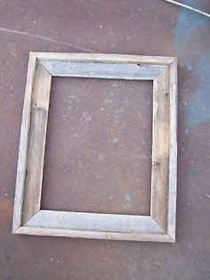 Deluxe Barnwood Picture Frame Rustic Weathered - need. Unfinished Hardwood Flooring, Prefinished Hardwood, Installing Hardwood Floors, 16x20 Picture Frame, Barn Wood Picture Frames, Reclaimed Wood Frames, Framed Maps, Woodworking, Image Frames