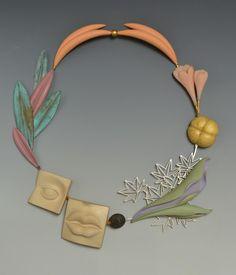 """Rinpa Maple"" necklace | Bruce Metcalf"
