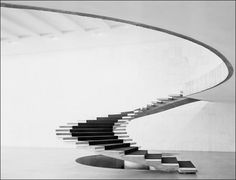 Oscar Niemeyer – Ministry of Foreign Affairs building in Brazilia 1962