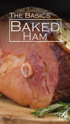 Learn how to bake a ham for any occasion with this easy baked ham recipe! This baked ham is topped with a ham glaze for extra flavor. This ham glaze recipe is made with Madeira wine and fresh orange zest to give this baked ham an extra kick of flavor. Whether you're making this baked ham recipe for Christmas or any other holiday, your guests are sure to love it! #bakedham #hamglaze #hamglazerecipe #slowcookerham #orangehamglaze #citrusham Ham Sauce, Roasted Ham, Cooking Recipes, Baked Ham Recipes, Copycat Recipes, Cooking Tips, Christmas Ham, Ham Glaze, Roast Dinner