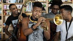 """Artists don't usually tell long, rambling stories for us. They don't usually name their tunes """"Ku Klux Police Department."""" The trumpeter presents his jazz-hybridized """"stretch music"""" in performance."""