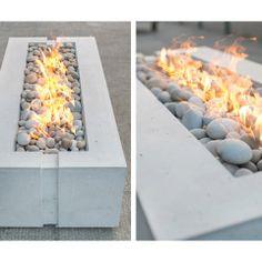 Avera Concrete Firepit by DEKKO Concrete