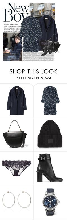 """Untitled #1855"" by hellohanna ❤ liked on Polyvore featuring Elie Saab, Vanessa Bruno Athé, Paul & Joe Sister, Wandler, Acne Studios, STELLA McCARTNEY, rag & bone, Jennifer Fisher and IWC Schaffhausen"