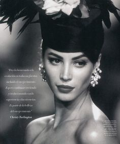 "80s-90s-christy-turlington: ""Christy Turlington for Valentino (1991) """