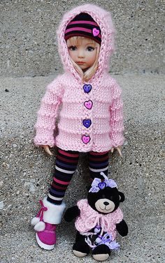 Little darling doll.