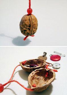 DIY Walnut shells beanbag / Щёлкаем орешки: скорлупа грецкого ореха как материал для вашего творчества - Ярмарка Мастеров - ручная работа, handmade