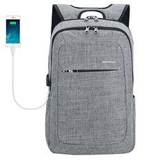 Kopack Slim Business Laptop Backpacks Anti thief Tear / w...