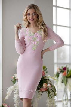 Вязание платье эмма