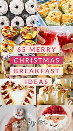 65 Merry Christmas - Breakfast Concepts: Meals for the Holidays - Pleasure Pea Well being Christmas Buffet, Christmas Brunch, Christmas Appetizers, Christmas Desserts, Christmas Treats, Christmas Baking, Merry Christmas, Christmas Dinners, Christmas Foods