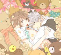 Tags: Fanart, Pixiv, Junjou Romantica, Takahashi Misaki, Usami Akihiko, Fanart From Pixiv, mosupyon