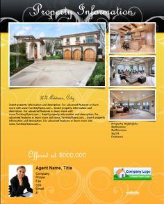 66 best real estate flyers images on pinterest real estate flyers