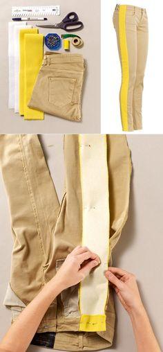 Как увеличить размер джинсов на 2 размера (DIY) / Изменение размера / Своими руками - выкройки, переделка одежды, декор интерьера своими руками - от ВТОРАЯ УЛИЦА