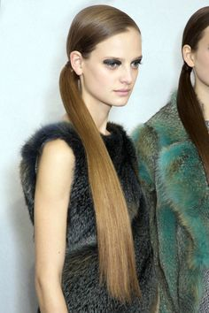 Perfect beauty and hair straight from the Dior runway for Fall 2015: