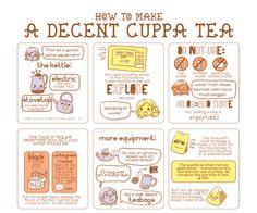 How To Make A Decent Cuppa Tea.