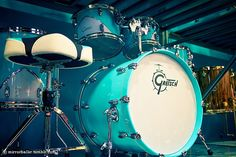 Mint Drum Set. I LOVE IT!! =)