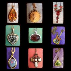 Pendants https://www.facebook.com/pages/The-Jewellery-Cloud/160517894095561#