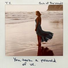 """The """"Out of the Woods"""" official single cover!"""