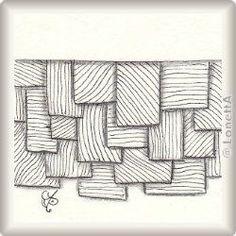 Zentangle-Pattern 'Shingee' by Pam Pincha-Wagener, presented by www.musterquelle.de