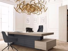 Fashion High End Office System Furniture L Shape Manager Executive ...