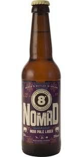 Eight Degrees Nomad India Pale Lager 33cl   thebeerclub.ie