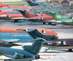 "Emilio Pucci / Alexander Girard/ ""Braniff Place"" Years ""The Braniff Pages"" Fort Worth, Texas Boeing 727, Boeing Aircraft, Dfw Airport, Best Airlines, International Airlines, Cabin Crew, Air Travel, Fort Worth, Military Aircraft"