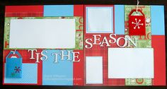 Scrapbooking and Other Tidbits: Santa Claus is Comin...