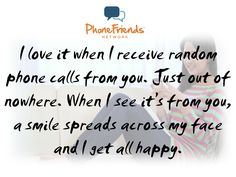 www.phonefriendsnetwork.com Phone Call Quotes, Princess Quotes, Happy, Image, Happiness, Being Happy