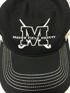 Embroidered hat for masco field Hockey