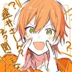 nanao(@ramio3_2)さん / Twitter Pink Hair Anime, Anime Faces Expressions, Dark Anime Guys, Anime Poses, Fanart, Cute Anime Boy, Anime Sketch, Pretty Art, Anime Art