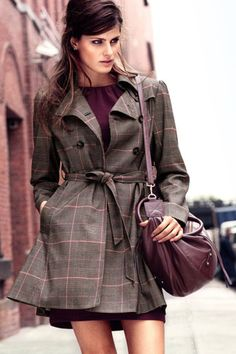 Charming Plaids You Can Wear Even If You Don't Live In Brooklyn
