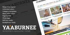 Yaaburnee – Magazine WP Theme