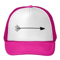 Tribal Art Single Black Arrow Trucker Hat, for Her. This design features the popular Tribal Arrow style of art. This design would be great for a lover of trendy and popular designs. Feel free to resize the image, move the image arou...