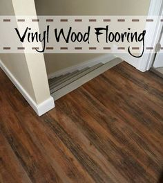 Linoleum wood flooring faux hardwood we went with a for Hardwood over linoleum