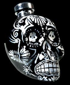 kah tequila skull bottle price | Skulls and Bacon: KAH Tequila - Day of the Dead Skull Bottles