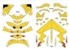 Картинки по запросу papercraft pokemon