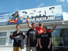 seizing opportunities of a lifetime! These young guns get the chance to jump into life with a skydive!
