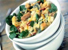 Receita de Salada Caesar de Agrião - salada reservada. Polvilhe com o queijo. Pra mim, que não tenho muita habilidade na cozinha e nem experiência pra saber se algum ingrediente...