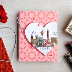 Hero Arts 2017 Valentine's Collection Blog Hop card by Mariana Grigsby
