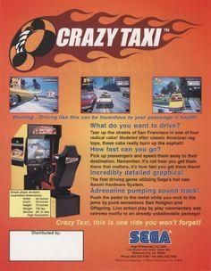 PC & Video Games: Crazy Taxi Arcade Game