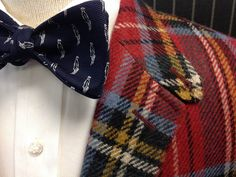 Our Version of Casual Friday It's time to dress up again. Sport coat – Polo Ralph Lauren Shirt – Robert Talbott Bow – Wm. King Clothiers signature logo made for us by R. Hanauer Call us at 423-968-9383 if we can be of any assistance.